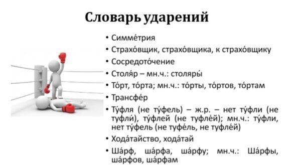 Словарик с-ш